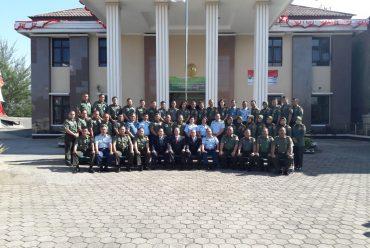 PEMBINAAN KETUA KAMAR MILITER YANG MULIA MAYJEN TNI (PURN) TIMUR P. MANURUNG, S.H., M.M. DI PENGADILAN MILITER II-09 BANDUNG