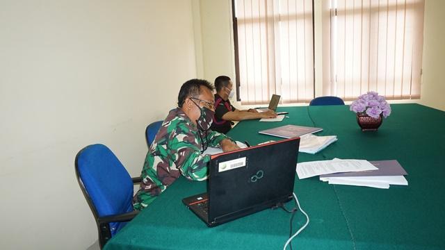 Pelatihan Teknis Fungsional Panitera Pengganti Lingkungan Peradilan Militer Seluruh Indonesia