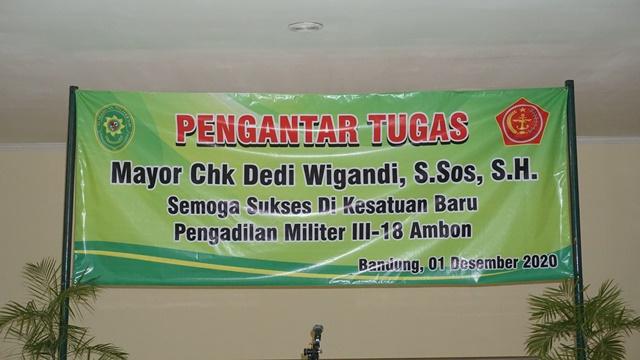 PENGANTAR TUGAS PANITERA MAYOR CHK DEDI WIGANDI, S.SOS., S.H.
