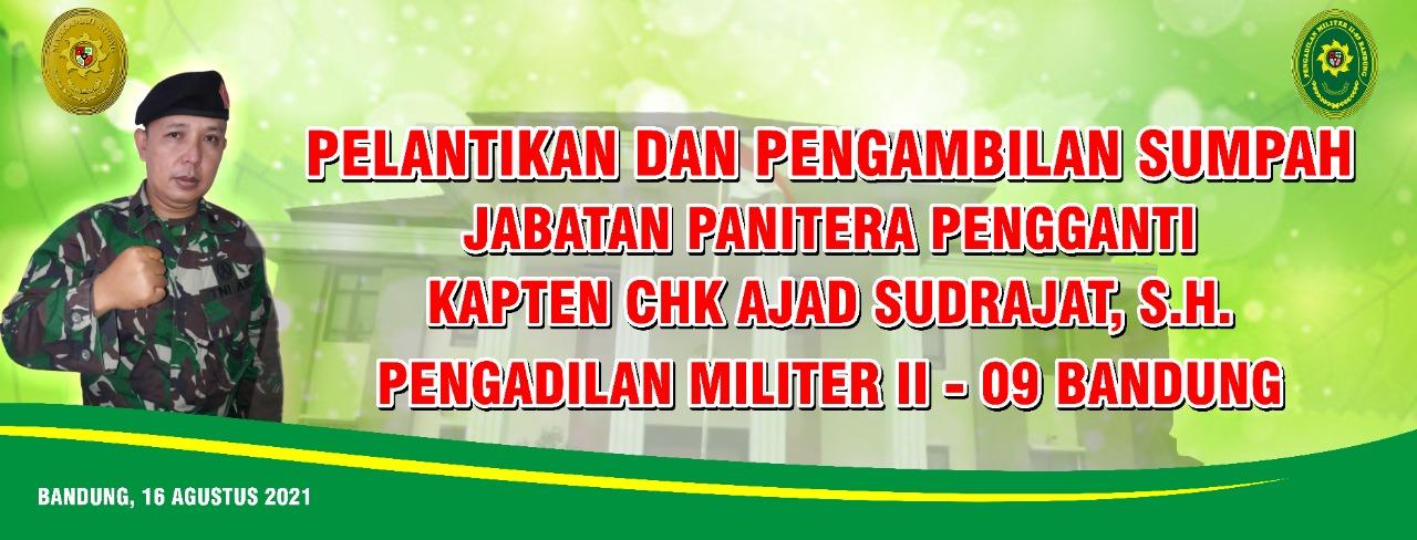 PELANTIKAN DAN PENGAMBILAN SUMPAH JABATAN PANITERA PENGGANTI