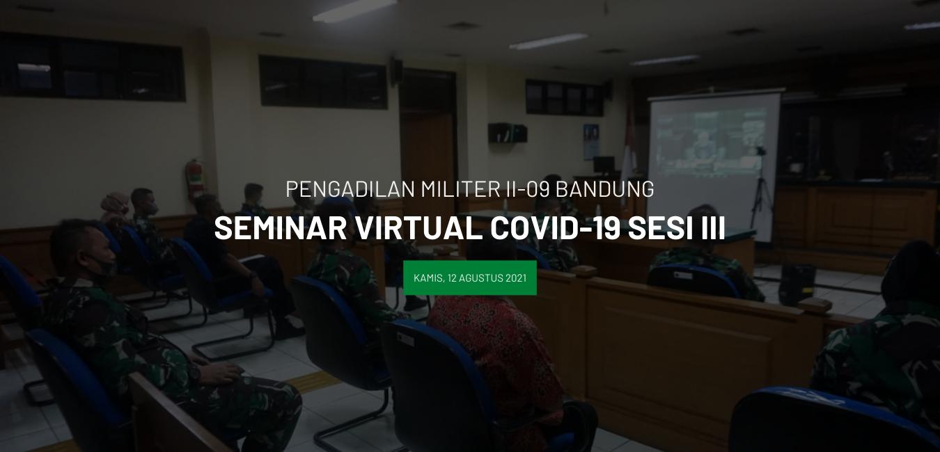 SEMINAR VIRTUAL COVID-19 SESI III